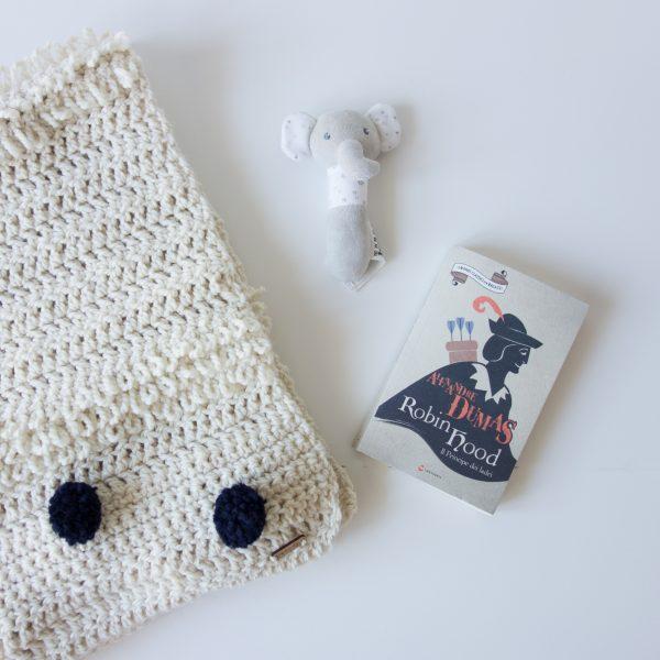 Coperta in lana grossa