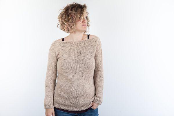 maglione estivo in cotone